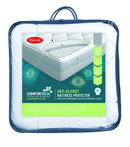 Tontine T6140 Comfortech Anti Allergy Mattress Protector, Queen Bed