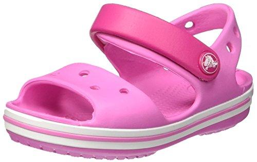 Crocs Crocband Sandal - Kids, Sandales Mixte Enfant, Rose (Candy Pink/Party Pink) 28/29 EU