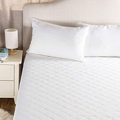 Urban Ruffles Quilted Mattress Protector Fitted Bed Cover Topper 30cm Extra Deep | Hypoallergenic & Non noisy | Soft Hotel Quality (King (150 x 200cm))