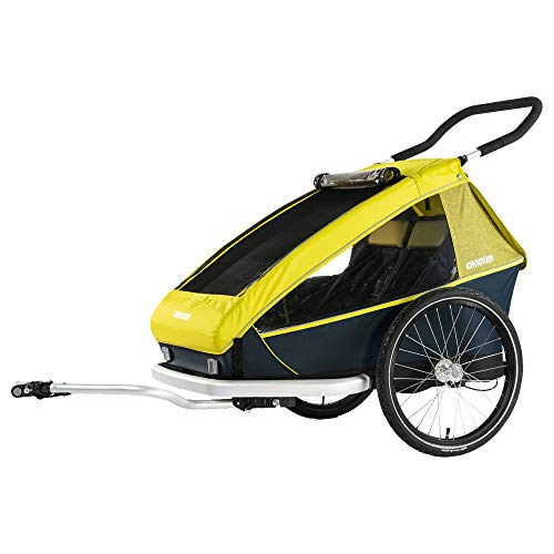 Croozer Kid for 2 2019 Lemon Green