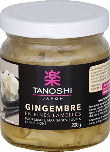 Tanoshi Gingembre En Lamelles 200 g