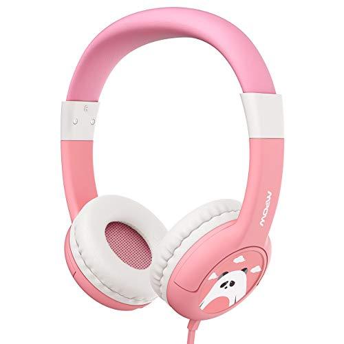 Kopfhörer Kinder, CH1 Kopfhörer für Kinder mit 85dB Lautstärke Begrenzung Gehörschutz & Musik-Sharing-Funktion, Kinderkopfhörer mit Kinderfreundliche sichere Lebensmittelqualität