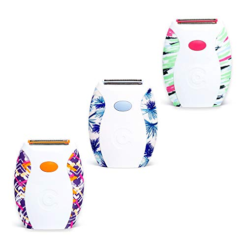 Clio Designs Palmperfect Electric Shaver in Patterns, Color and Pattern may vary (pack of 1)