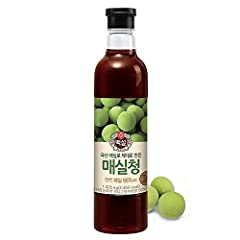 Korean Beksul All Purpose Plum Extract Syrup Made with brown sugar, plum juice concentrate Enjoy with iced plum drink or cooking sugar 1 Bottle (2.2lb) per order