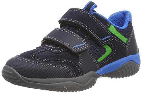 Superfit Jungen Storm Sneaker, Blau (Blau/Blau 80), 35 EU