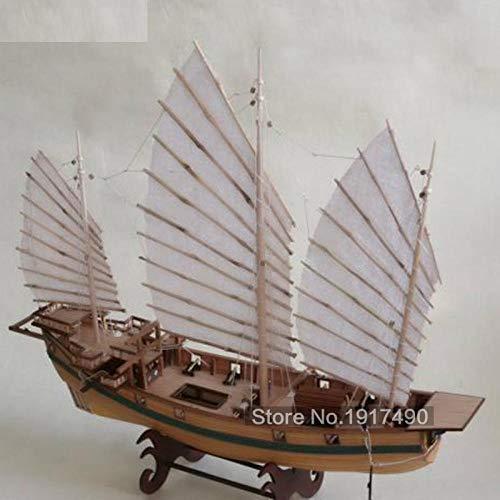 Maquetas De Barcos Para Montar Juego De Maquetas De Barcos De Madera Juegos Educativos Para Niños Modelos De Madera Para Barcos Corte Láser 3D Modelo De Ensamblaje Para Adultos Escalas De Barcos 1:8