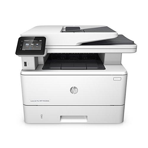 HP LaserJet Pro M426fdn Laserdrucker Multifunktionsgerät (Drucker, Scanner, Kopierer, Fax, LAN, Duplex, HP ePrint, Airprint, USB, 4800 x 600 dpi) weiß