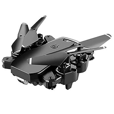 4K HD Single Camera WiFi Fpv Drone Foldable Quadcopter Profession Drone (black)