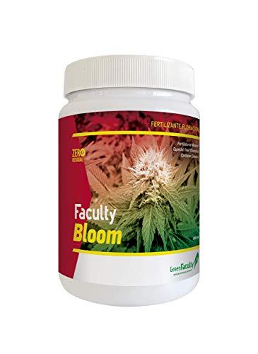 GreenFaculty - Bloom - Fertilizante Abono Floración Marihuana Cannabis. Cultivo Interior, Exterior, Hidroponia, Tierra y Coco. NPK. Polvo Soluble Concentrado 500 g