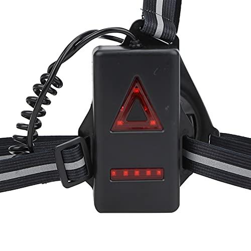 Lámpara para correr al aire libre, luz para correr, soportes de iluminación ajustables en 3 niveles, para deportes al aire libre, carrera nocturna