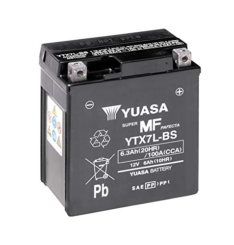 Yuasa YTX7L-BS(WC) Batería sin mantenimiento