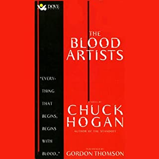 The Blood Artists audiobook cover art