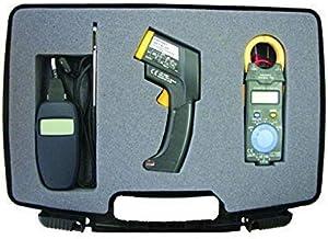 ZJN-JN Kit de Hioki HVAC Un Kit Profesional con anemómetro, termómetro infrarrojo, y CLAMPMETER Equipo anemómetros