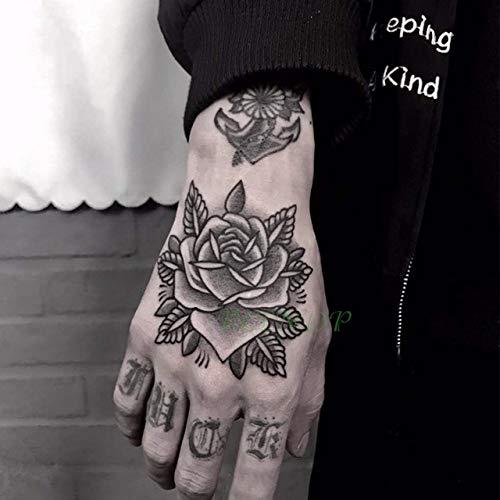 TattooSize 3pcswaterproof Etiqueta engomada del Tatuaje de ...