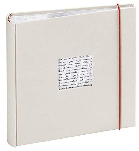 Unbekannt Panodia 271121 Linea Fotoalbum für 200 Fotos, 11,5x15cm, gebrochenes weiß, 200 VUES