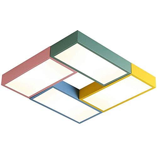 Ventiladores de Techo Invisibles Sala de Estar Luces de Ventilador de Control Remoto Dormitorio Simple Cinturón Retráctil Moderno Led Mute Lámparas de Ventilador Eléctrico, C-L, Luz blanca, 60cm