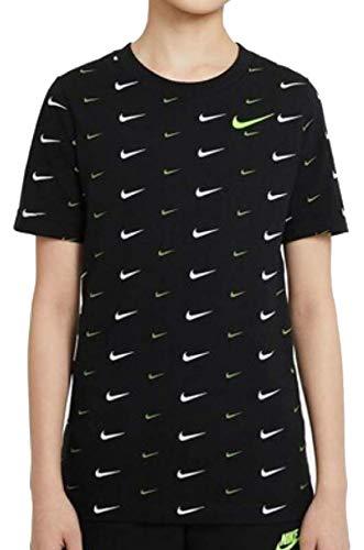 Nike Camiseta DC753010 para niño, color negro negro/amarillo XS