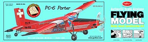 Guillow's Porter PC-6 Laser Cut Model Kit