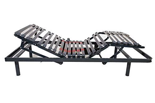 Imperial Confort Cama articulada con Motor eléctrico, Reforzada, 5 Planos, 135 x 190 cm