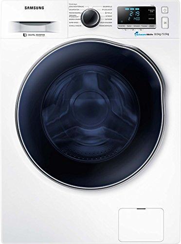 Samsung WD6000 WD80J6A00AW/EG Waschtrockner/a/17600 kWh/Jahr/1400 UpM/8 kg/9600 L/jahr/SchaumAktiv/SuperSpeed-Wash