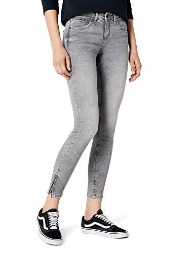 ONLY ONLY Damen onlKENDELL REG SK ANK Jeans NOOS Jeanshose, Grau (Medium Grey Denim), W26/L32 (Herstellergröße: 26)