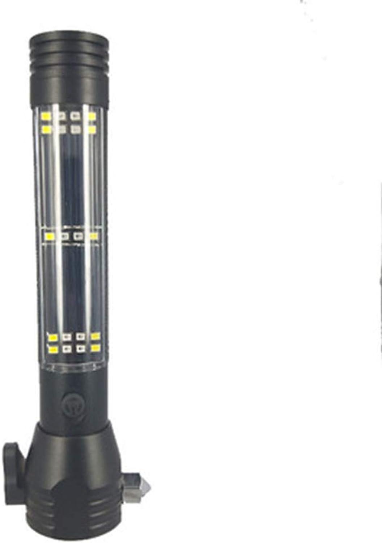 LED-Multifunktionsauto-Notsicherheits-Fluchthammer-Taschenlampe Outdoor Solar Warnung Sicherheitshammer-Taschenlampe B07NX4HS1W | Primäre Qualität