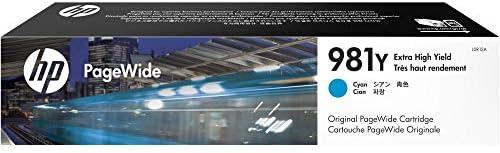 Hp 981y L0r15a Original Pagewide Druckerpatrone Mit Sehr Hoher Reichweite Für Hp Pagewide Enterprise Gelb Bürobedarf Schreibwaren