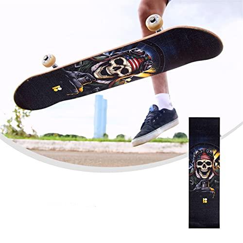HYSJLS Agarre la Cinta de la Cubierta Scooter Skateboard Hoja eléctrica Skateboard...