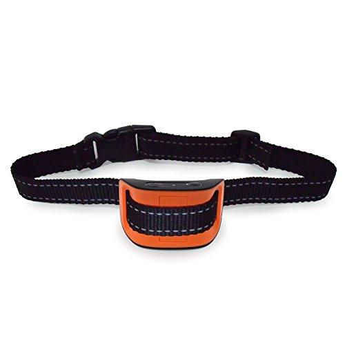 DAONLY Collar automático antiladridos SIN DESCARGAS para Perros. Collar eléctrico para Perros pequeños y Grandes. Collar de adiestramiento de Nylon para la Salud de tu Mascota (33 a 52 cm.)