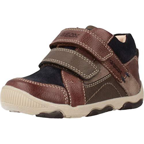Geox B New BALU' Boy A Sneaker, Braun (Brown/Navy C0947), 23 EU