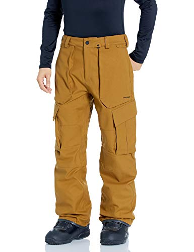 Volcom heren skibroek/Snow V.co Twenty One, bruin