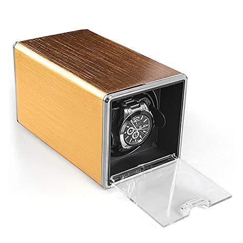 Remontoirs de montres - Mini 1 + 0 Boîte de remontoir de montre automatique Montre mécanique Shaker Moteur Mover Rotator Tourne-disque Boîtier de remontage Montre de stockage Affichage Boîte de
