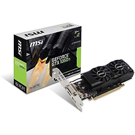 MSI GeForce GTX 1050 Ti 4GT LP グラフィックスボード LPモデル VD6238