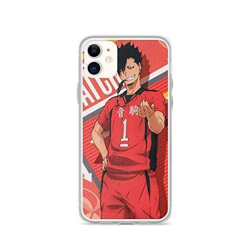 Funda compatible con iPhone 11 Haikyuu Shoyo Tobio Duo Voleibol Japonés Anime Pure Clear Teléfono Carcasas