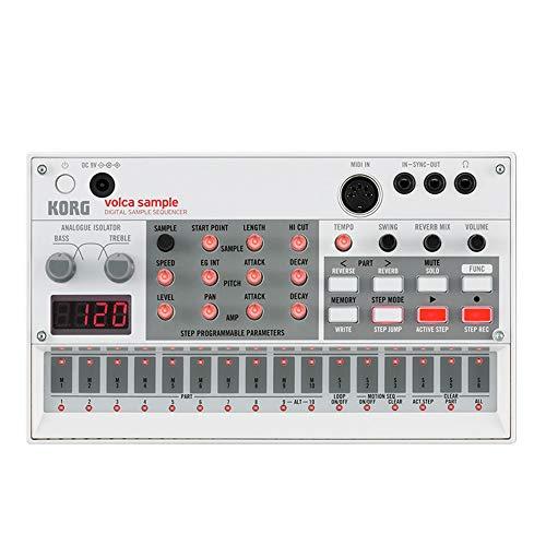 Volca Sample Playback Rhythm Machine Modificación, reproducción y Secuencia de muestras Estilo Volca