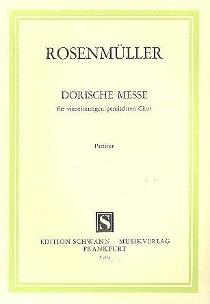 Dorische Messe: Partitur