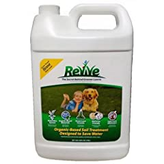 A natural organic-based soil treatment that has been used successfully on thousands of lawns since 1972 Composed of Lignosulfates and DPW (Dehydrated Poultry Waste) which contain primary and secondary plant foods that have a low burn potential Revive...