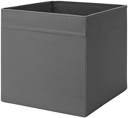 Ikea Dr amp ouml na Storage Box  33 amp nbsp x 38 amp nbsp x 33 amp nbsp cm H   amp nbsp Suitable for Expedit and Besta Shelves  Etc  polyester  gray  33x38x33  BxTxH