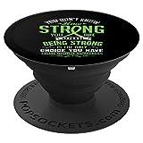 You Don't Know How Strong You Are Celiac Disease PopSockets Agarre y Soporte para Teléfonos y Tabletas