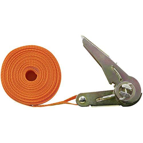 Toolcraft 1493502 Einteiliger Spanngurt Zugkraft LC Niederzurren (einzeln/direkt)=350 daN (L x B) 6 m x 25 mm
