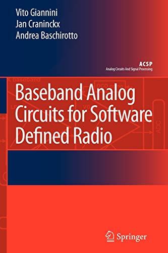 Baseband Analog Circuits for Software Defined Radio (Analog Circuits and Signal Processing)