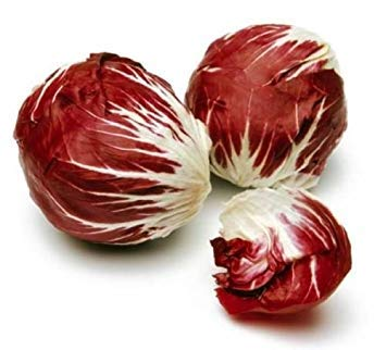 Shopvise radicchio Palla Rosa vitamine 100 graines paniers