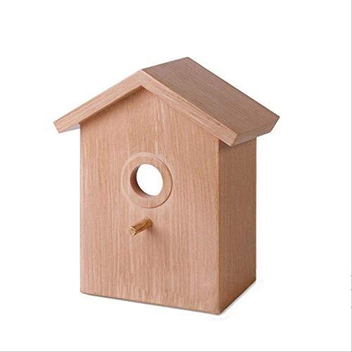 XYBB Vogel Nest vogel huis Nest Creatieve wandmontage plastic outdoor vogel nest vogelhuisje creatieve Box Tuin Decoratie benodigdheden, As shown, A