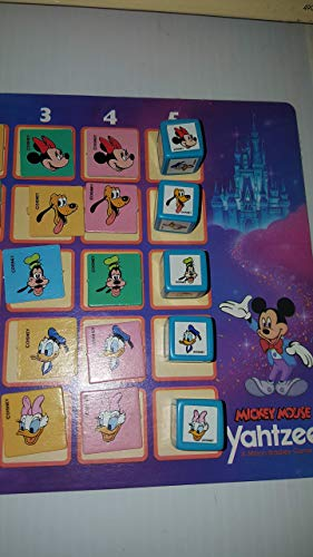 Mickey Mouse Yahtzee Game (1988 Edition)