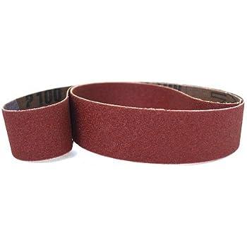 "1/"" X 30/"" 220 Grit Abrasive Sanding Belts 10 Pack Aluminum Oxide USA Made"