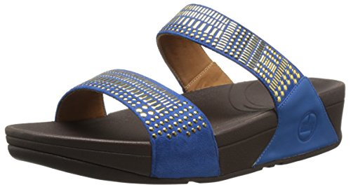 FitFlop? Fitflop Aztec Chada Slide Damen Sandalen Blau