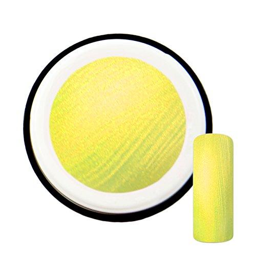 Jaune Fluo avec effet de Pearl # 8 gels uv gel 5 ml – Fabriqué en Allemagne