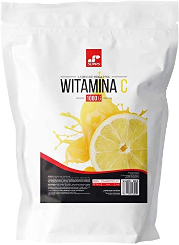 MP Supps Vitamin C 1000mg Package of 1 x 1000g - Immunity - L-Ascorbic Acid - Powder