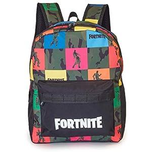Fortnite Mochilas Escolares Juveniles para Niños, Mochila Diseño Camuflaje, Bolsa para el Colegio Viajes Deporte…