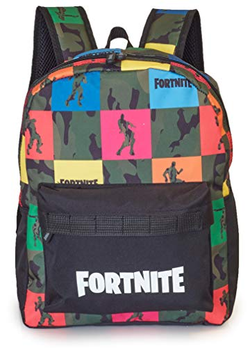 Fortnite Mochilas Escolares Juveniles para Niños  Diseño Camuflaje  Bolsa para el Colegio